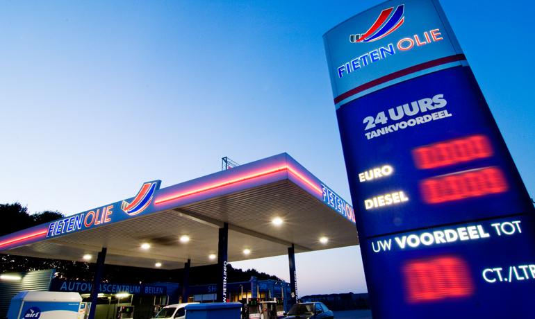 Fieten Olie tankstation
